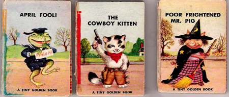 More Tiny Golden Books