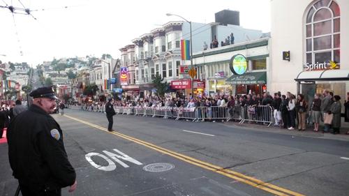 Cop:crowd