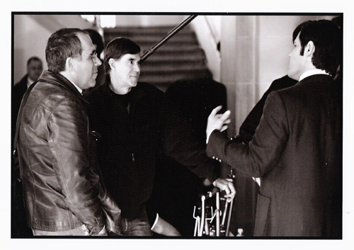 Van Sant, Brolin and I
