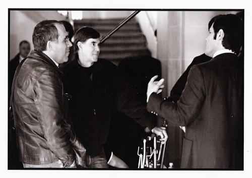 Van Sant, Brolin and I