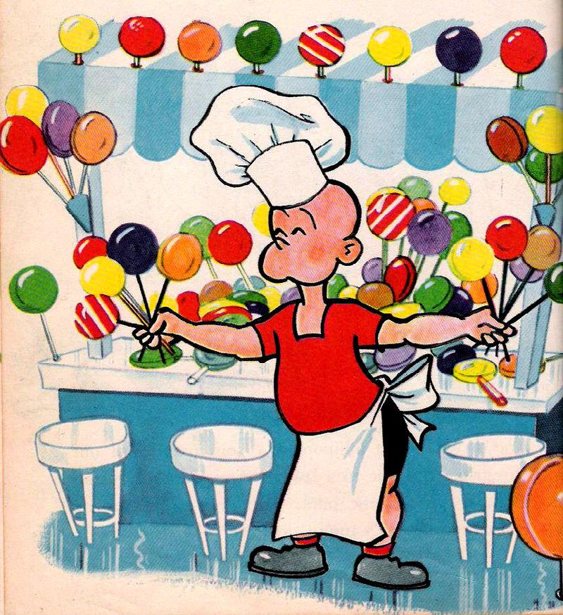 Lollipop Man. A successful entrepreneur. Every parent's dream.