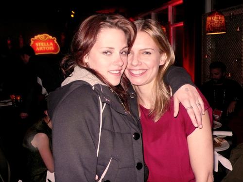 Kristen and Vanessa