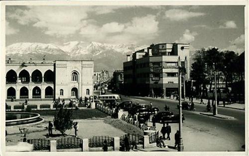 Tehran Street 1950's