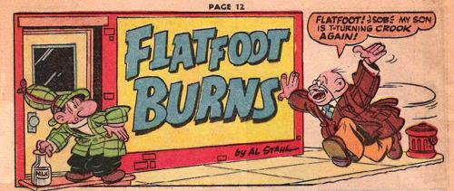 Flatfoot burns