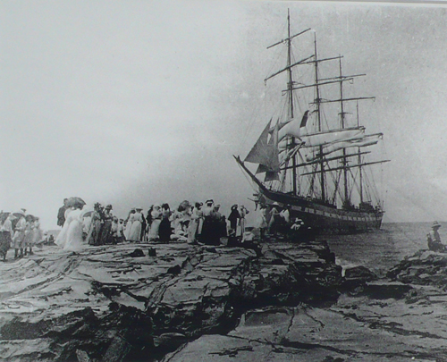 Stranded at Lorne 1908
