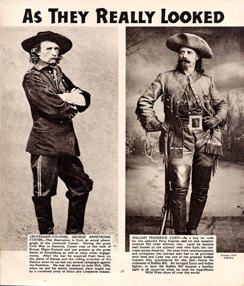 Custer and Cody