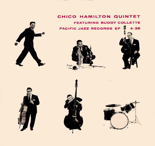 Chico Hamilton EP 4-39