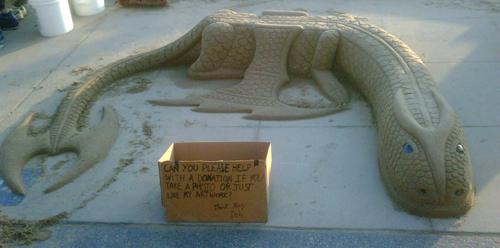 Sand dragon 1