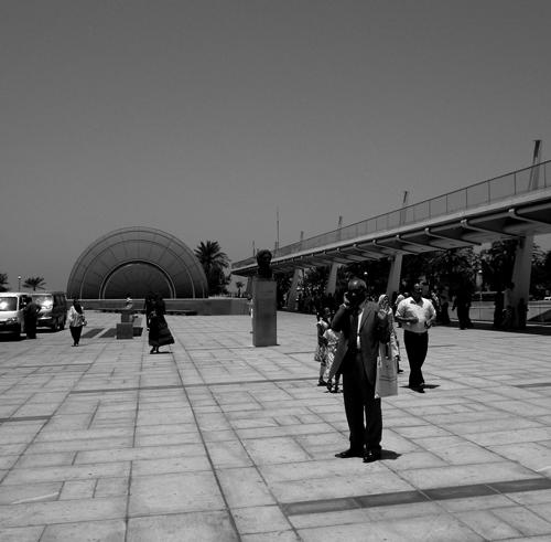 Bibliotequa black and white