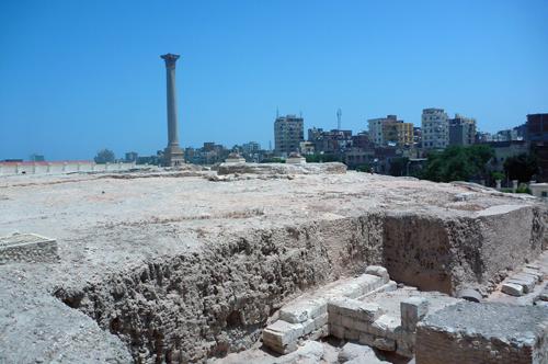 Pillar and city