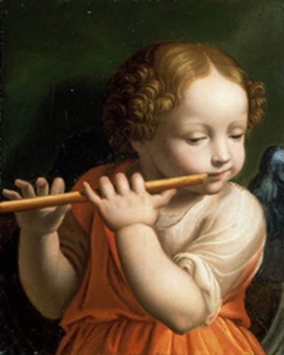 Bernardino-Luini-xx-Child-Angel-playing-a-flute