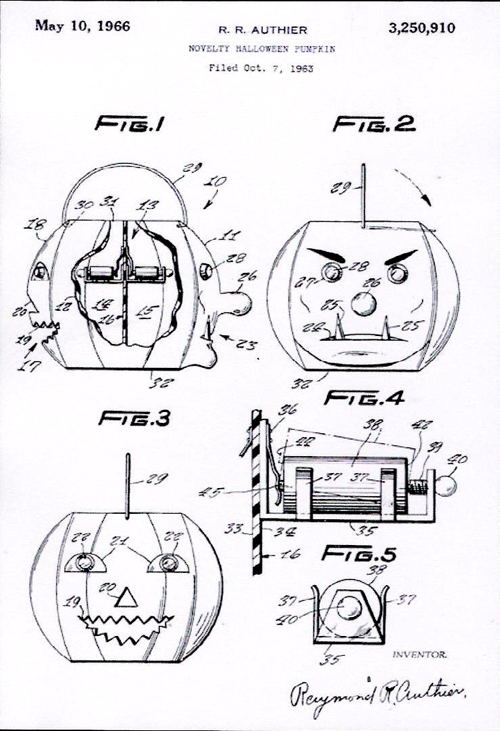Halloween patent #1