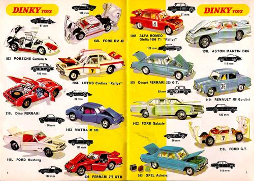 Dinky cars 2