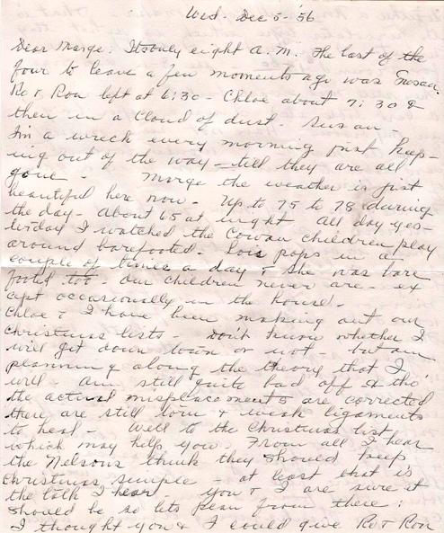 Dear marge