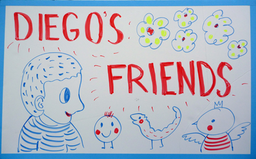 Diego's friends