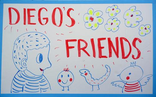 Diego's friends