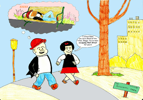 Sluggo and nancy ows small