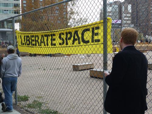 Liberate space