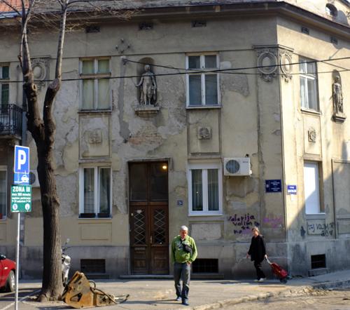 Serb facade