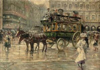 Alvarez_dumont_eugenio-l_omnibus_a_busy_town_square_paris~300~10157_20091117_2828_122