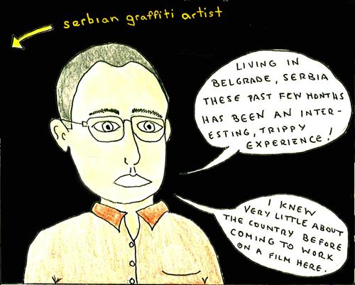 Serbia comic book panel 2