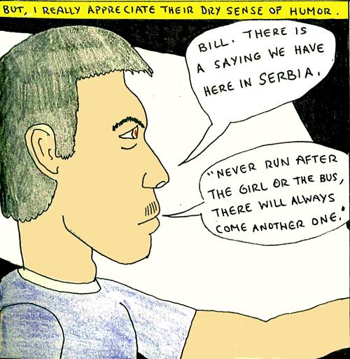 Serbia comic book panel 5
