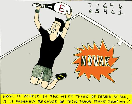 Serbia comic book panel 4