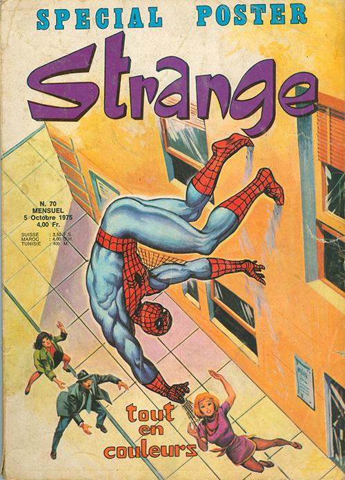 Strange comic