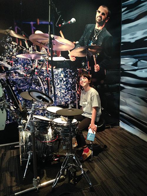 Jamming with Ringo