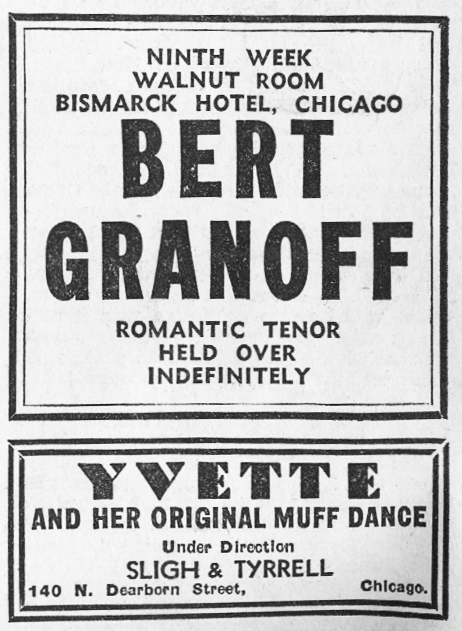 1936 Night Club Acts 4